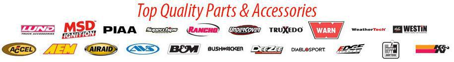 Top Quality Parts and Accessories